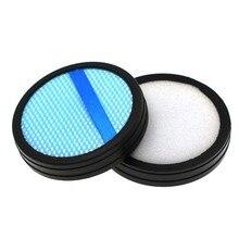 2 uds filtro lavable de piezas de la aspiradora para Philips FC6409 FC6171 FC6405 FC6162 FC6168 piezas de accesorios de vacío