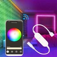 Controleur de bande lumineuse RGB LED intelligent  5-24V  compatible avec lapplication Tuya 3 0 Zigbee et lassistant Google
