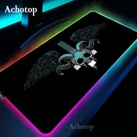 hollow knight rgb mouse pad gaming mouse pad computer large mousepad with backlit xxl mouse pads led gamer mause carpet desk mat