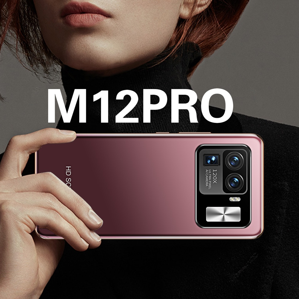 mobile phone The new smart phone M12pro Android mobile phone explosion model 2+16G all-in-one machine