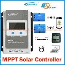 EPEVER contrôleur de Charge solaire   40A 30A 20A 10A MPPT 4210AN 3210AN 2210AN 12V 24V, fonctionnement automatique, entrée électrique 100VDC, régulateur solaire EPEVER