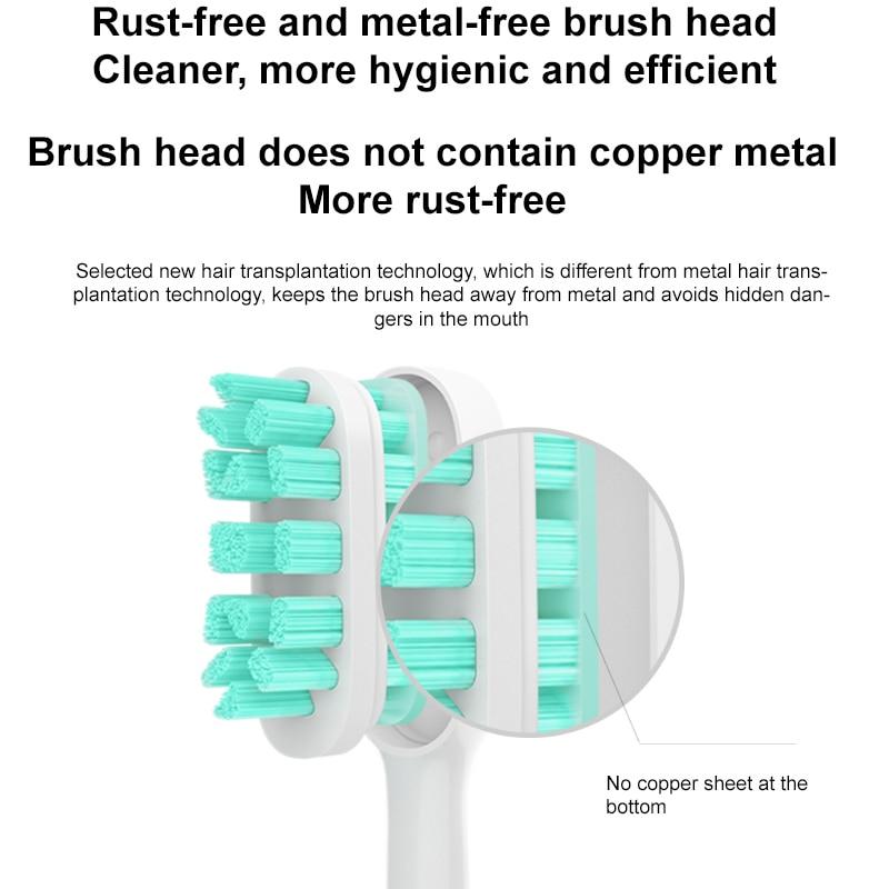 XIAOMI Toothbrush T500 MIJIA Electric Toothbrush Sonic Brush Ultrasonic Whitening Teeth vibrator Wireless Oral Hygiene Cleaner enlarge