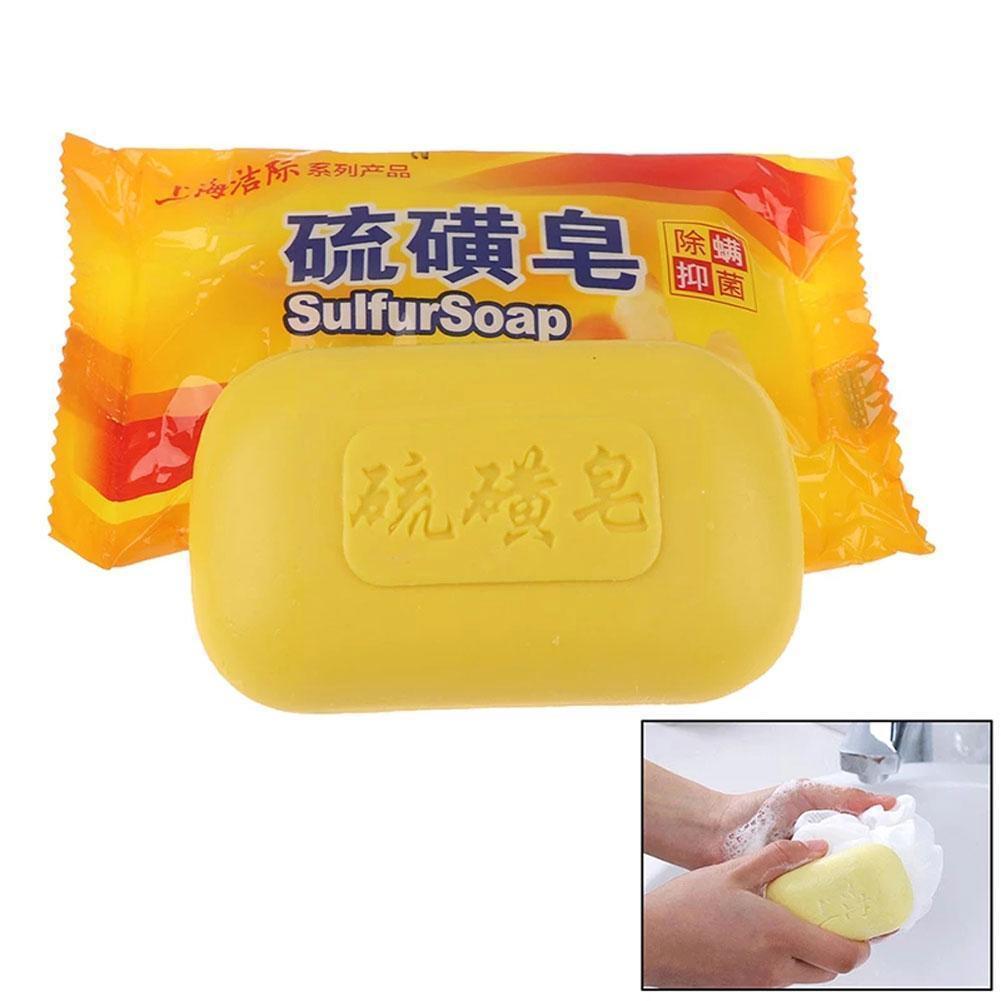 lumene for men voima energizing face wash 1 Pcs Sulphur Soap For Men And Women To Remove Oil Antibacterial Clean Face Soap Bath Back Wash Wash Hands Soap Moisturizin R1i4