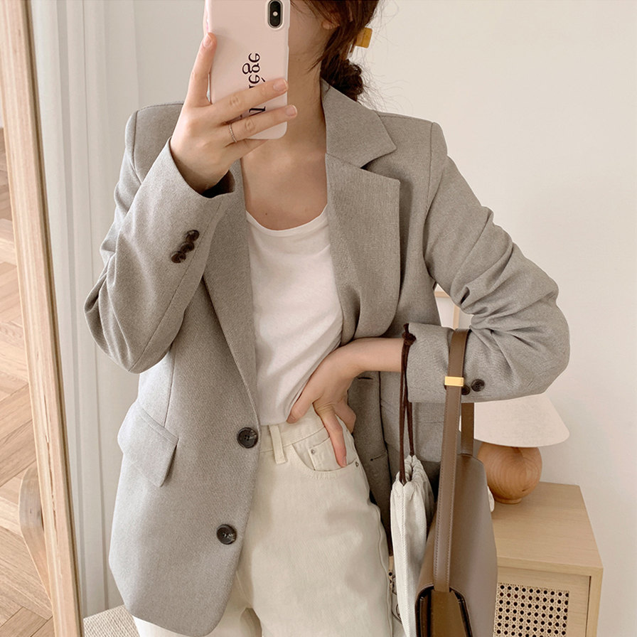 New suits Female Vintage Autumn Office Ladies Notched Collar Plaid Women Blazer Breasted Jacket Casual Pockets Female Suits Coat office ladies notched collar plaid women blazer double breasted autumn jacket 2021 casual pockets female suits coat