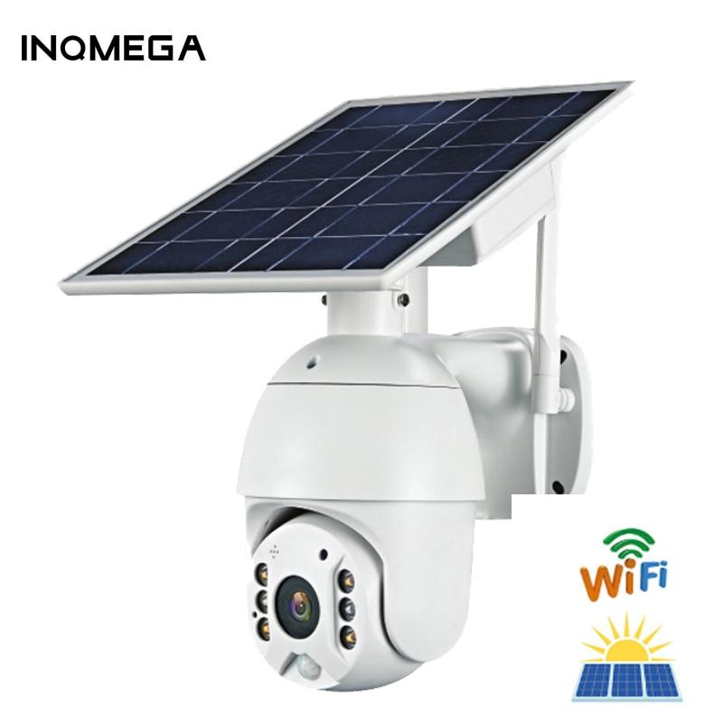 Review IINQMEGA WIFI Solar Camera 1080P Cloud Wireless IP Camera Shell Sola HD Outdoor Wi-fi Security Surveillance Waterproof Outdoor C