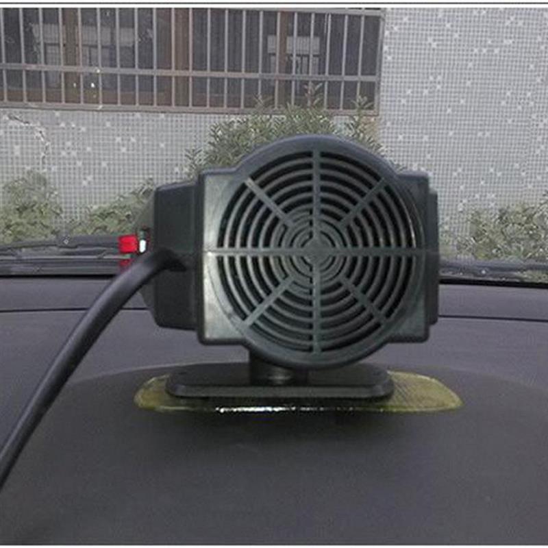 Dc12v 200 w carro ventilador de aquecedor automático demister defloster ventilador do veículo auto 2 em 1 aquecimento refrigeração pára-brisas janela defloster demister