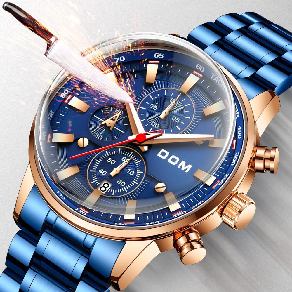 Relógios de moda relógios masculinos criativos relógios masculinos de luxo relógios masculinos esportes à prova dwaterproof água negócios reloj mujer bayan saat