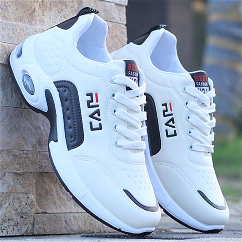 Zapatillas de deporte transpirables para hombre, zapatos masculinos informales con cordones, para...