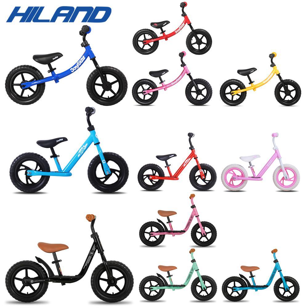 Almacén de ee.uu., bicicleta de equilibrio de 10, 12 y 14 pulgadas, bicicleta ultraliviana para niños de 1 a 3 años, bicicleta para niños para aprender a andar, deportes de equilibrio para niños