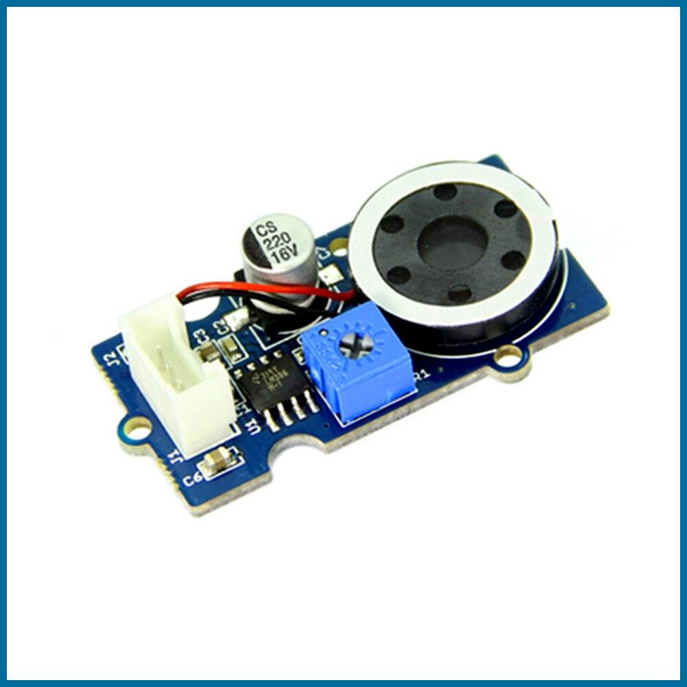 Seeduino groove-وحدة إخراج مكبر صوت ، ملحقات مكبر صوت صغيرة مع Arduino قابل للتعديل