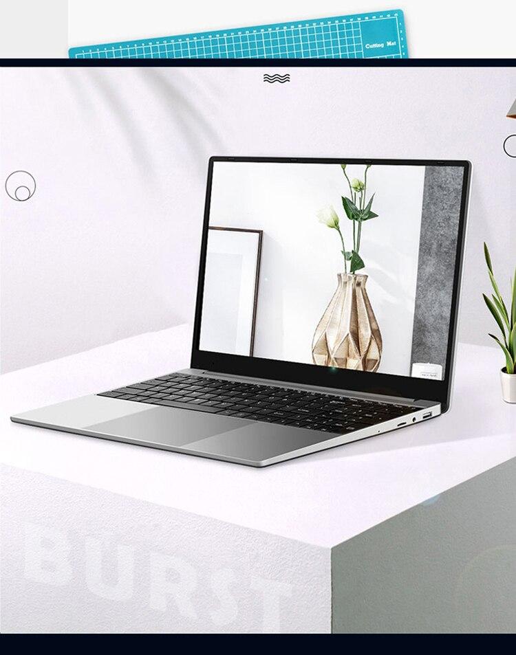 2021 New Arrival 15.6 inch i5 5350 Gaming Laptop Metal Body Notebook 8GB RAM 512 GB SSD Backlit Keyboard Fingerprint