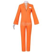 Detentionhouse Nanbaka Niko Cosplay Carnaval Costume Halloween Christmas Costume jumpsuit uniform Outfit Custom