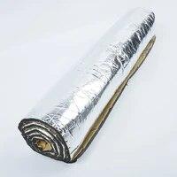 1 roll 100x40cm 5mm car soundproof cotton auto accessories insulation aluminum foil sound proofing deadening mat