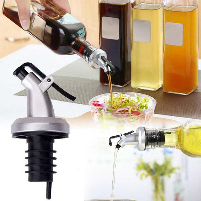 Productos de cocina de 3 uds., pulverizador de aceite de oliva, dosificador de vino, tapón de tapa superior para barbacoa, cocina, Kit de pulverizador de aceite para hornear