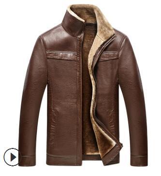 jacket for middle-aged and elderly men