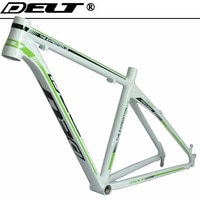 MTB Mountain Bicycle bike frame 26 x 17 inch AL6069 white green Accessories