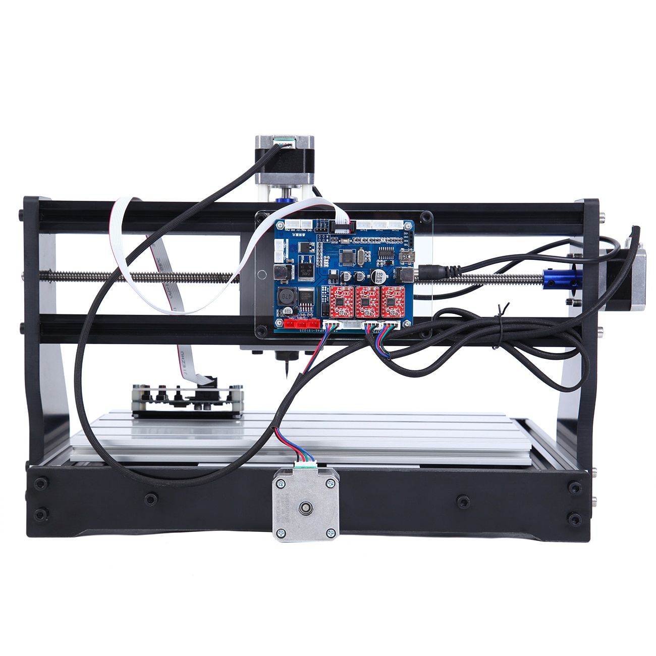 Honhill Laser Engraving Machine 30x40cm DIY Wood Laser Cutting Machine Engraver for Wood PCB PVC Mini CNC3018 Desktop Engraver enlarge