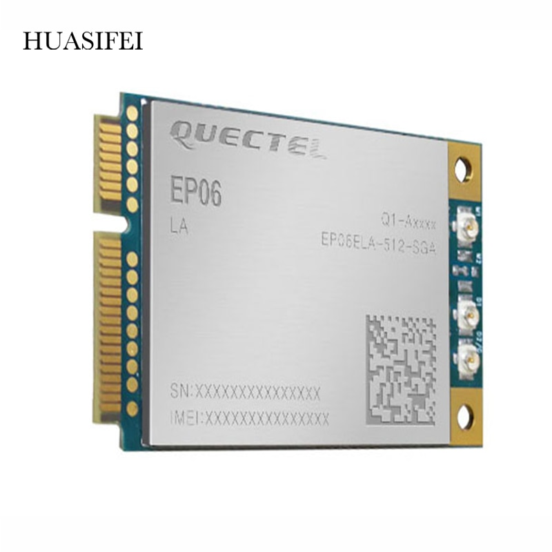EP06-A EP06-E LTE-A Cat 6 300mbps Mini PCIe module with Mini PCIe coefficient, suitable for industrial 4G router home gateway enlarge