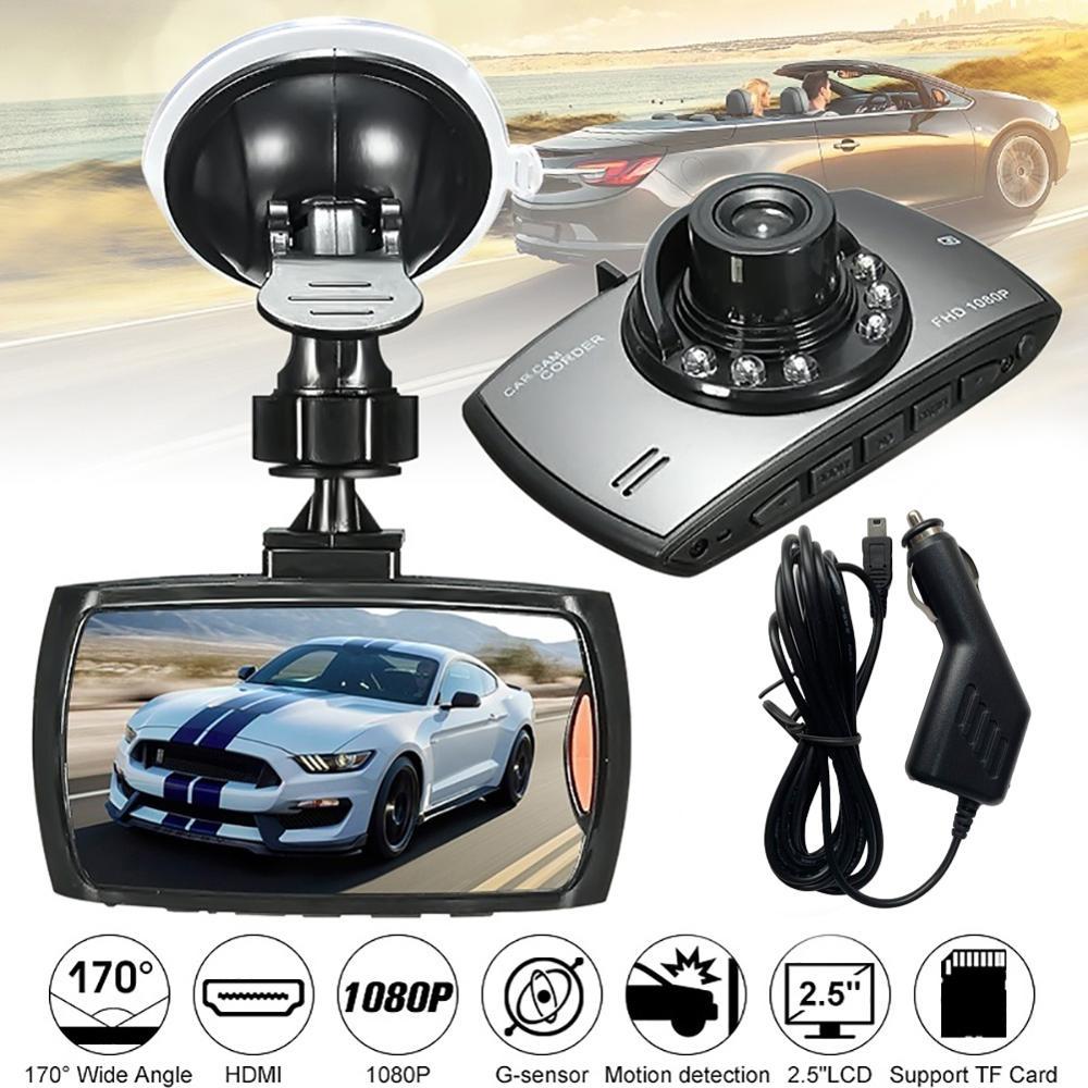 2.5in LCD 1080P Car DVR Camera Dash Cam Video Recorder G-sensor Night Vision Recroder Camcorder видеорегистратор авто dash cam
