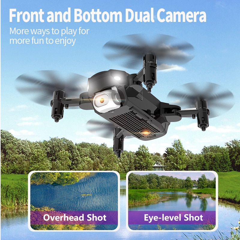 Children's toys for beginners remote control four-axis aircraft, outing outdoor aerial photography aircraft enlarge