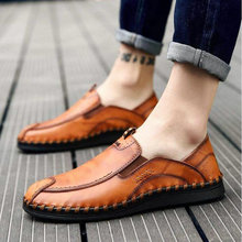 Men Flats Moccasins Shoes Handmade  Comfortable Men Casual Shoes Loafers Driving  Lazy Men Quality S