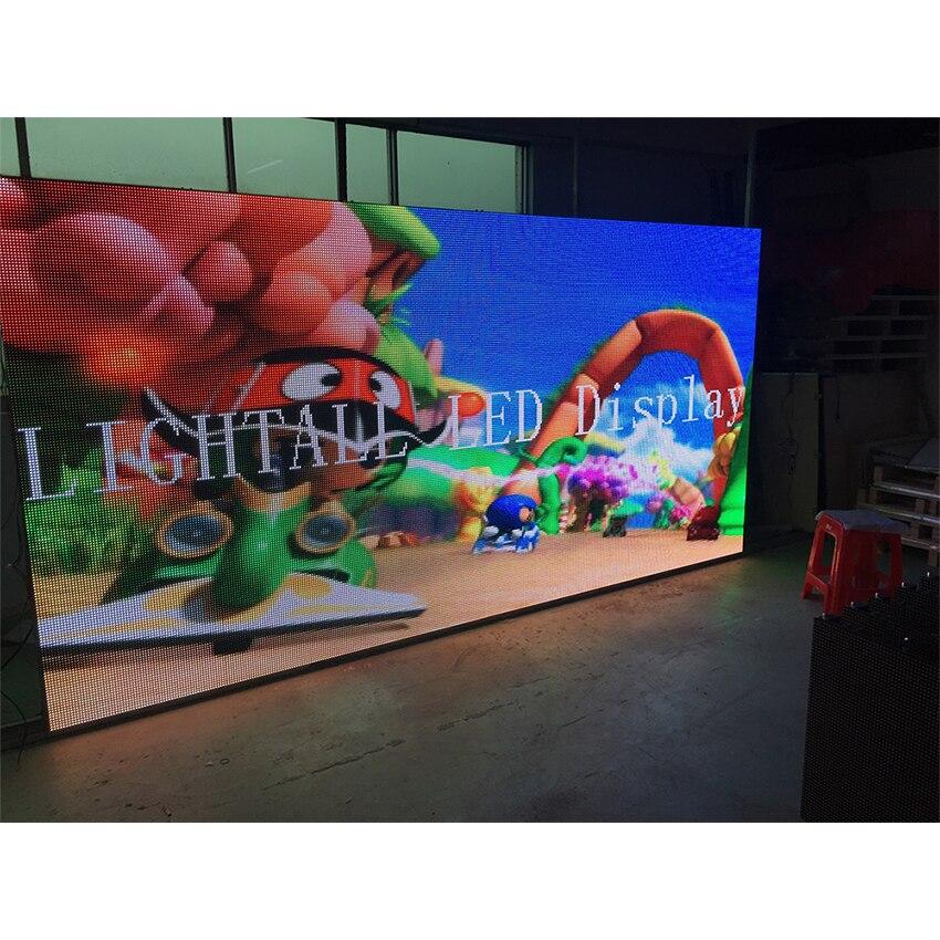 P6 módulo exterior 192*192mm SMD3535 32*32 puntos 1/8S impermeable panel de pantalla led pantalla LED para publicidad