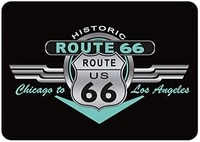 tin sign route 66 for decor 12 x 8 inches suitable for barcafehome kitchenrestaurantdormgarageman cavelounge decor