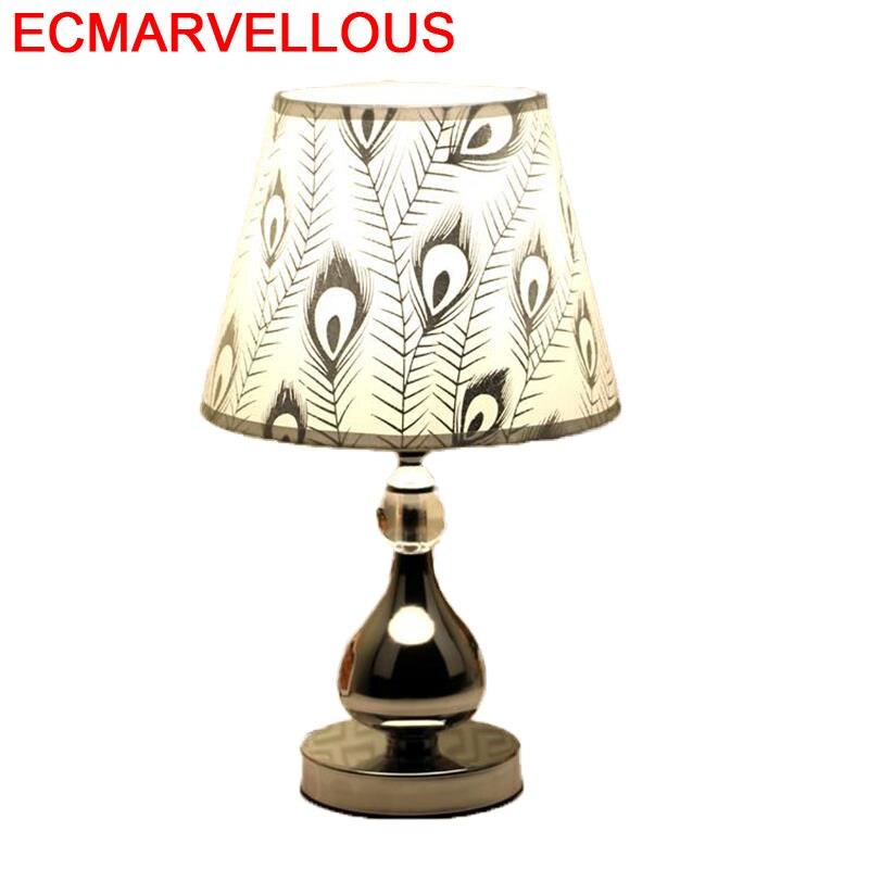 Deco Chambre Decoracao Casa Lampada Da Tavolo Schemerlamp El Dormitorio Luminaria Lampara De Mesa Abajur Para Quarto Table Lamp