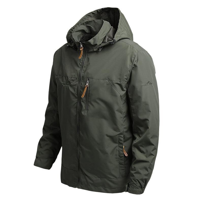 Men Clothing 2020 Spring and Autumn Jacket Men's Trend Mountaineering Jacket Windbreaker Outdoor Sports Jacket Men's Jacket Men