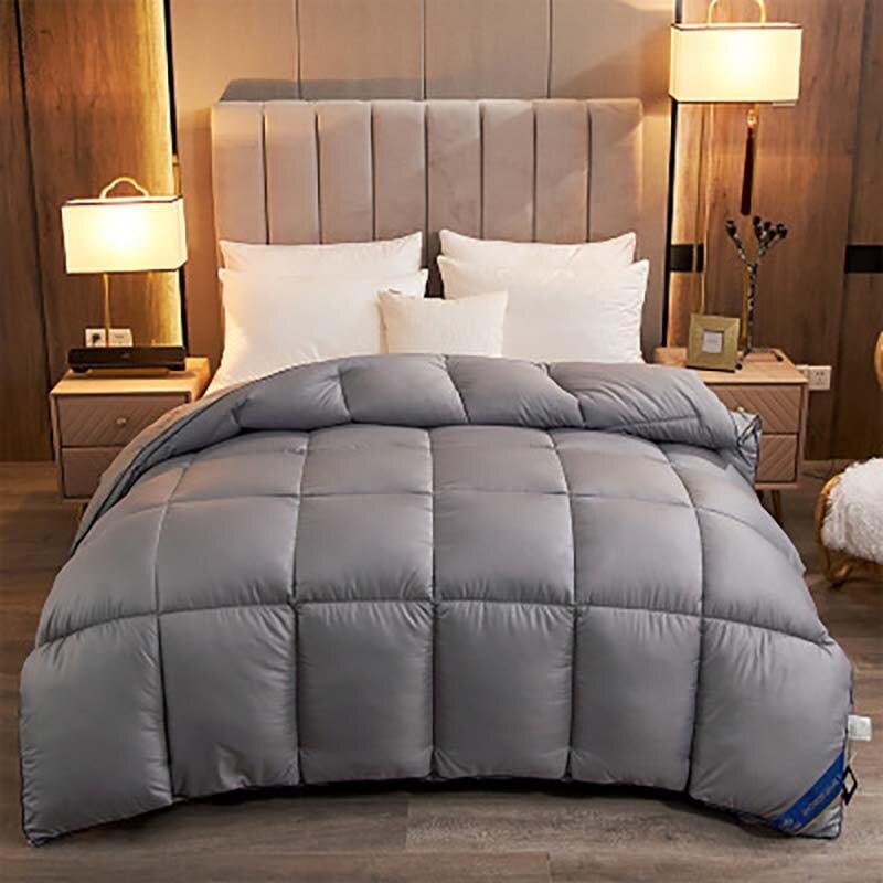 عرض خاص للبيع المباشر بطانية لحاف 95% لون ابيض للاوزة حجم كبير حجم كبير