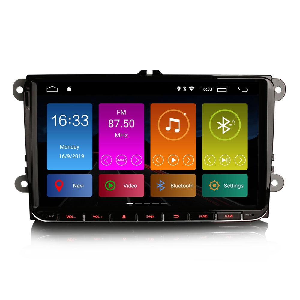 """9 """"Android 10,0 OS Radio, GPS, reproductor Multimedia para coche para Skoda Yeti 2009-2015 y Superb 2008-2015 y Patrick 2004-2008 y Praktik 2007-2011"""