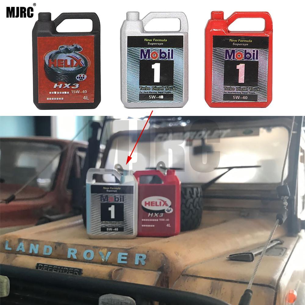 MJRC имитация металлического моторного масла бочка для 1/10 RC Гусеничный автомобиль TRX4 Defender Bronco RC4WD D90 D110 осевой Scx10 90046 RR10 TRX-4