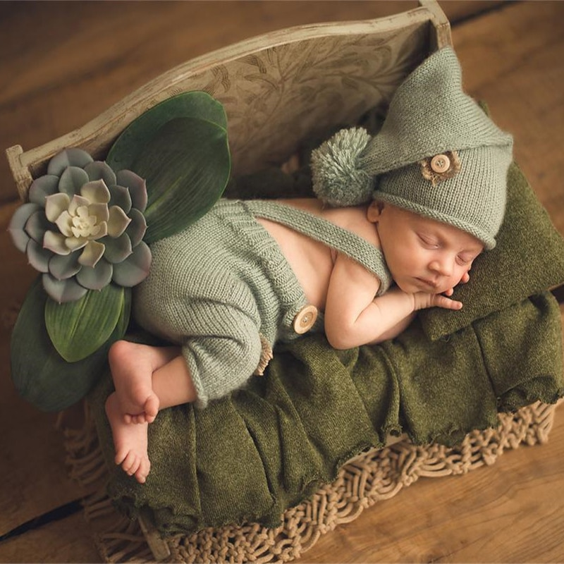 Baby Photography Props Wood Bed New Style Infant Photo Studio Child Shooting Newborn Fotografie Accessories Wooden Assembly enlarge