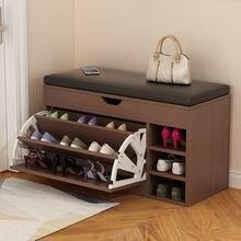 Porta scarpiera nordica ingresso con scarpiera fasciatoio scarpiera per uso domestico panca d'ingresso per uso domestico scarpe Organizer ripiano