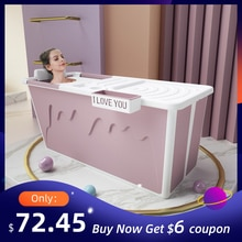 Baignoire pliable pour adultes   Siège de douche Portable pour adulte, baignoire pliable pour bébé, bain de natation ménager, grand bac à douche pliable