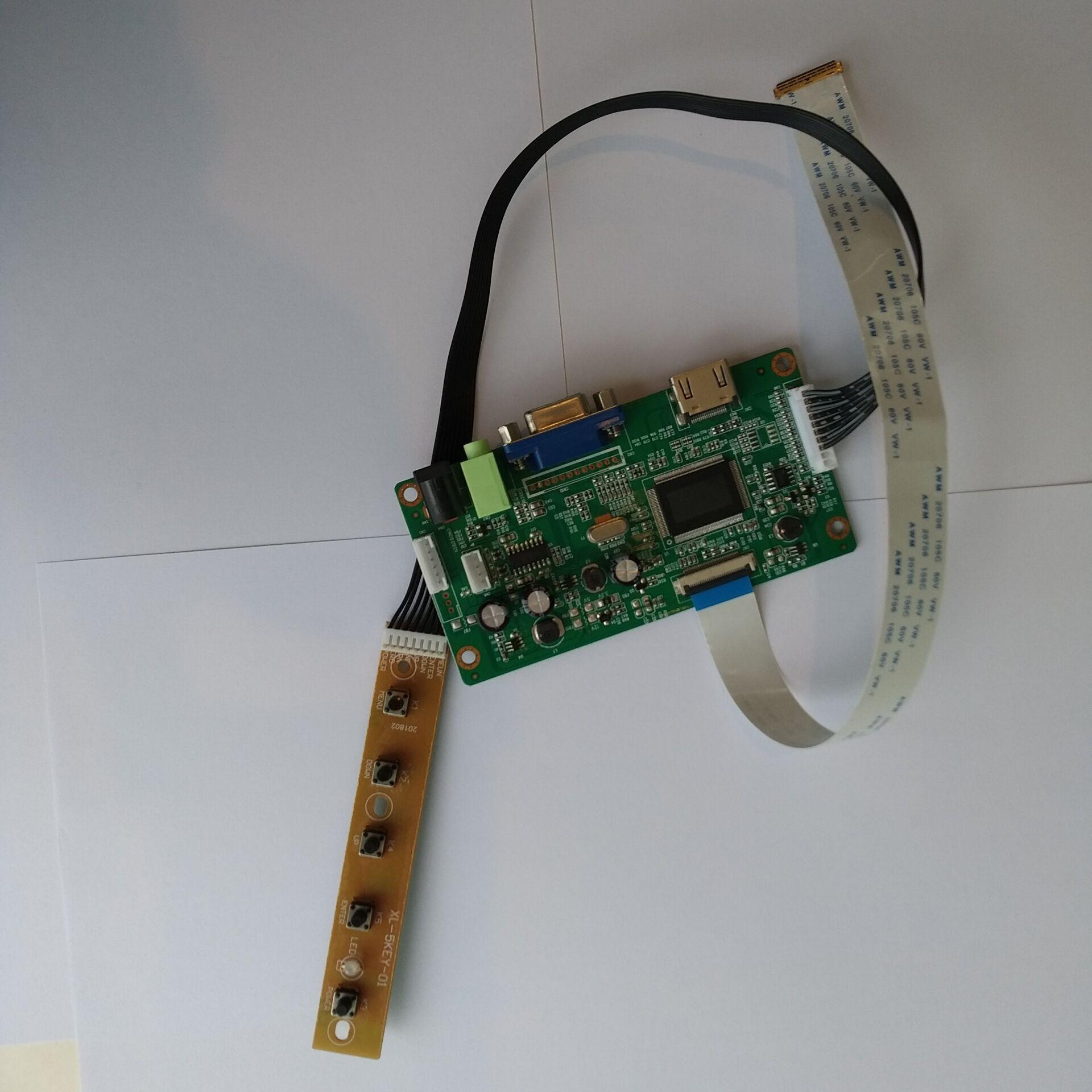 LED EDP HDMI-متوافق وحدة تحكم بشاشة إل سي دي لوحة المجلس شاشة عرض ل NV156FHM-A10/A11 15.6
