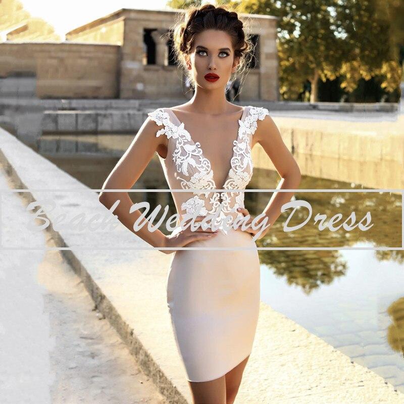 Get Elegant Sexy Mermaid Wedding Gowns 2021 Sleeveless Backless Lace Applique Soft Satin For Women Vestidos De Noiva  Wedding Dress
