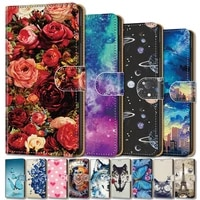 cute flip leather case for samsung galaxy note 10 20 pro case book style cover for samsung galaxy m51 m31 m40 m31s m30s m30 m21