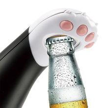 Ouvre-bouteille de bière en verre   Ouvre-bouteille à poignée de chat, vin rouge, outils de Bar, tire-bouchon Gadget de cuisine domestique livraison directe 2019