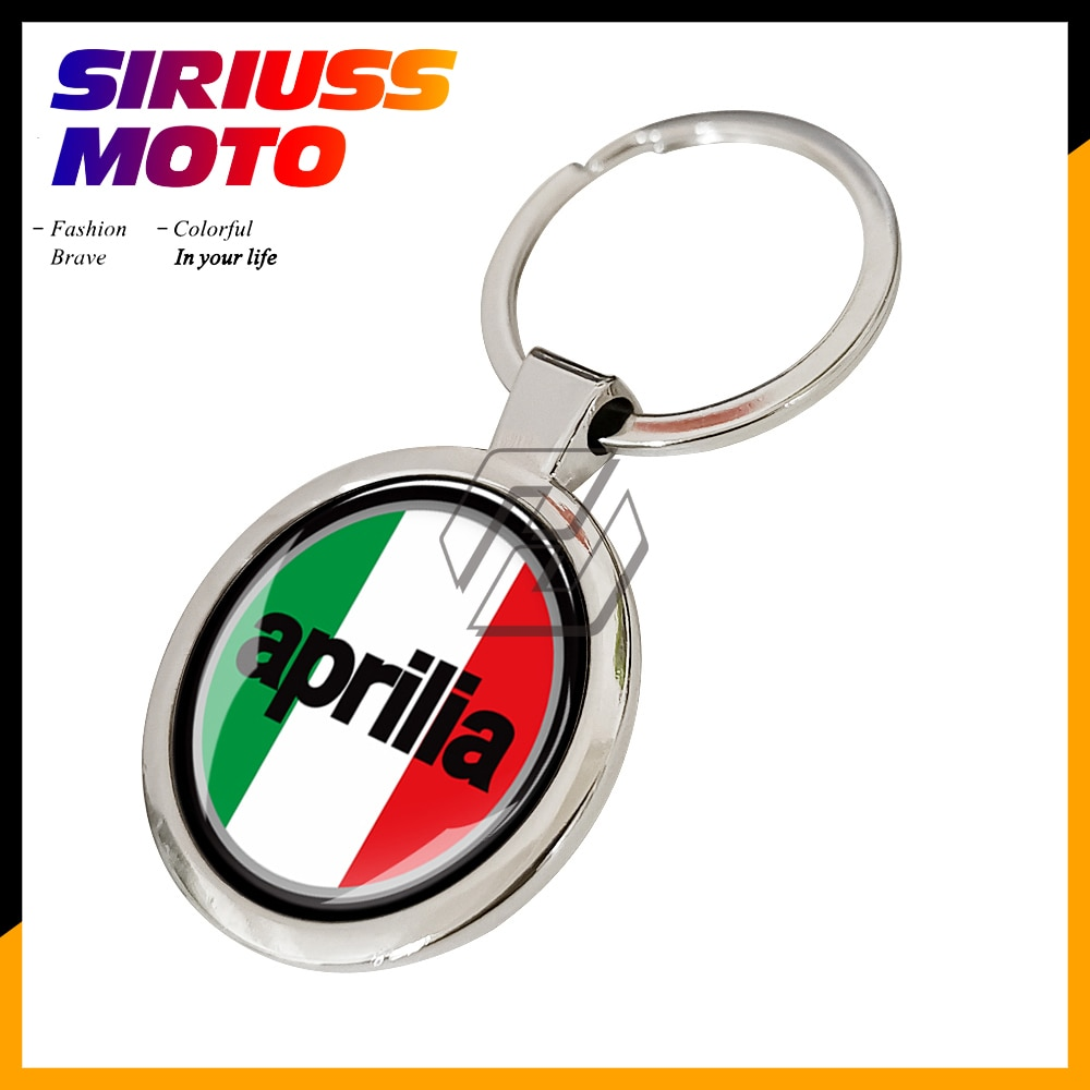Motocicleta llavero para Aprilia clave anillo Aprilia RS4 125 SRV 850 APR RS 125 V4 llavero