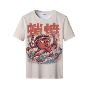2021 Summer 3D Short-sleeved T-Shirt, Vegetable Monster Print T-Shirt, Harajuku Street Style, Children Adult T-Shirt