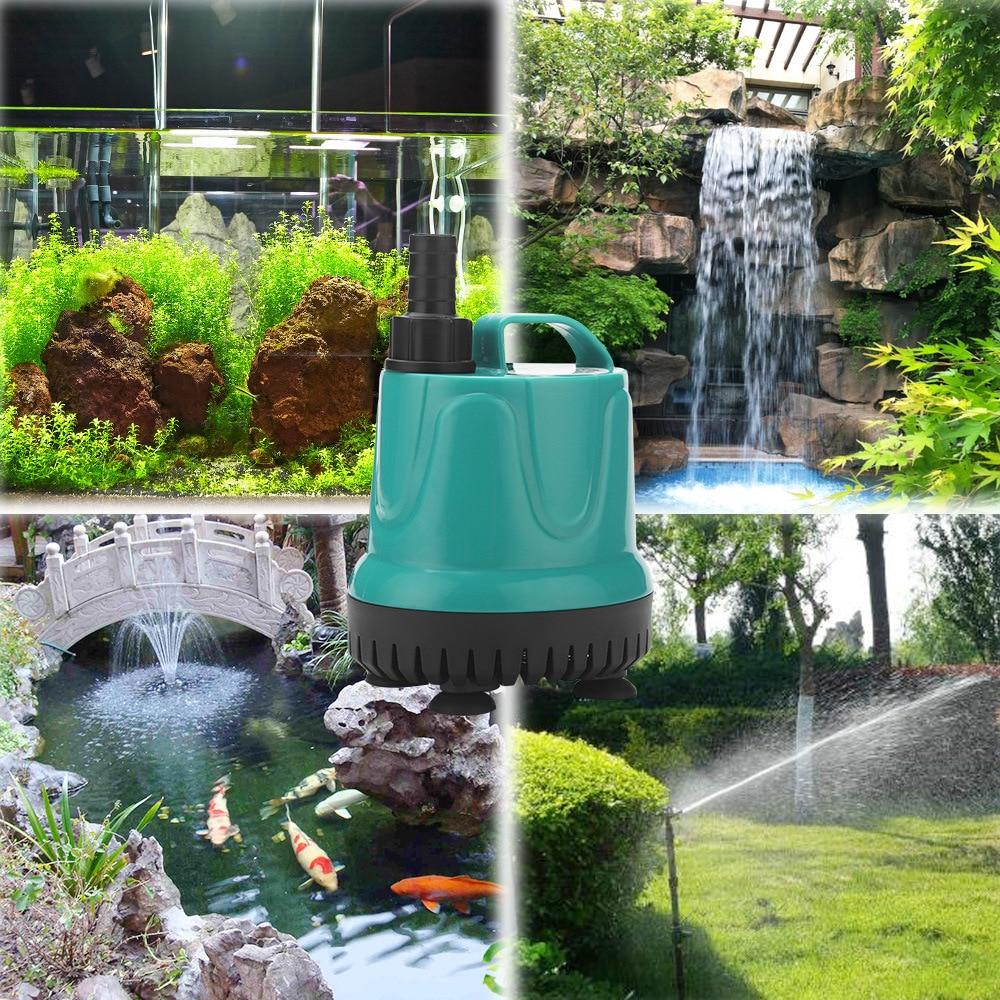 Pompa de apă, pompa submersibilă a rezervorului de pește, pompă - Produse pentru animale de companie - Fotografie 6