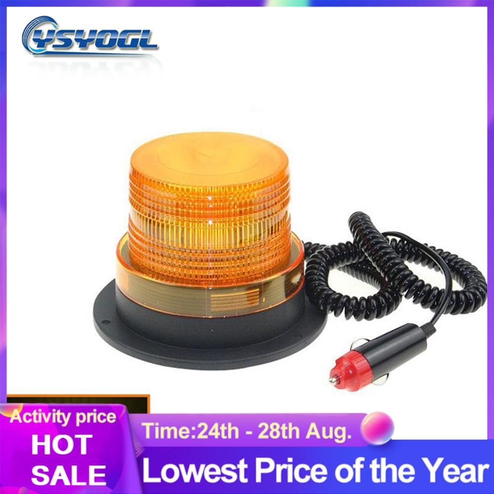 Luz Led Universal de 12v/24v, luz estroboscópica para techo de coche, luz intermitente de advertencia, lámpara de señal de emergencia para vehículos y camiones