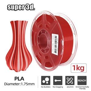 3D Printer Filament  PLA/PLA+ 1KG 1.75mm Transparent Neat Spool 3D Plastic Printing Material high purity for 3D Printers/ Pens