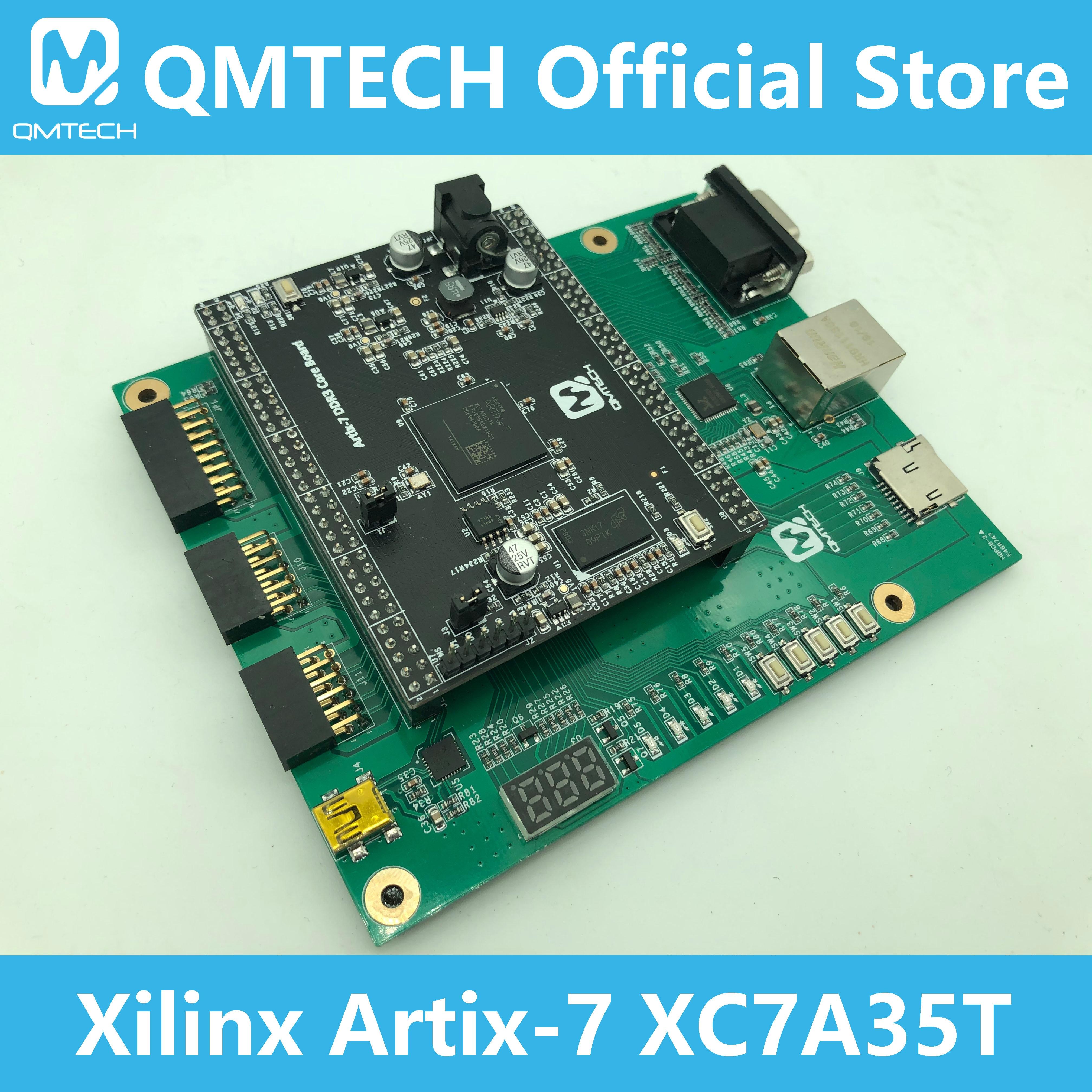 Макетная плата QMTECH Xilinx FPGA Artix7 Artix-7 XC7A35T DDR3 256MB