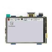 3.5 inch LCD HDMI USB Touch Sn Real HD 1920x1080 LCD Display for Raspberri 3 Model B / Orange Pi (Play Game Video)MPI3508