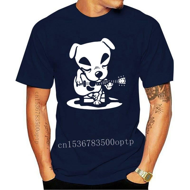 Totakeke Tshirt Men Cotton Casual Tee Shirts Round Collar Animal Crossing Video Games Tees Clothes Harajuku