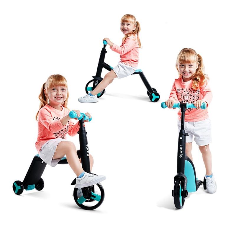 Nadle Kinder Roller Dreirad Baby 3 In 1 Balance Fahrrad Fahrt Auf Spielzeug Kinder Fahrrad