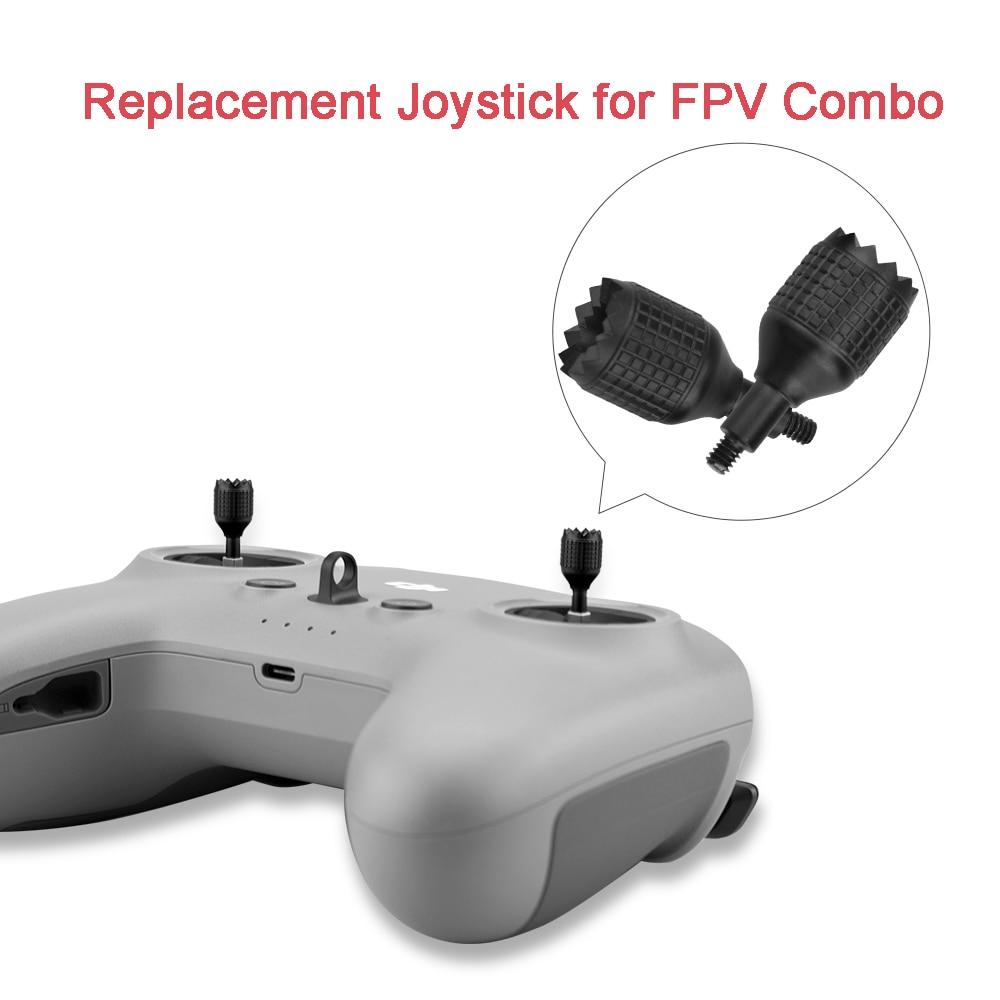 Aluminum Joystick for DJI FPV Combo Drone Remote Control Transmitter Thumb Rocker Sticks Spare Parts  for FPV Combo Accessory skyzone fpv t600 5 8ghz 600mw transmitter
