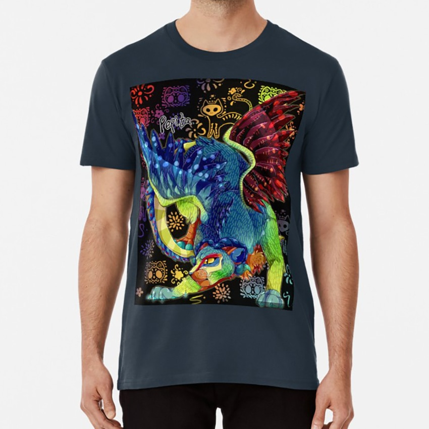 Camiseta Pepita The Alebrije Pepita Alebrije Pantera águila Pixar Coco película gato Bigcat Feline